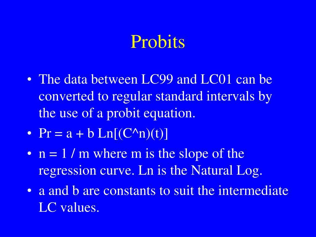 Probits