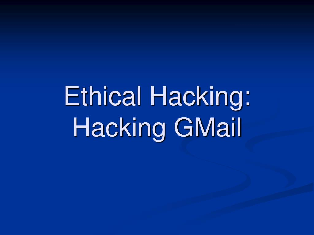 Ethical Hacking: