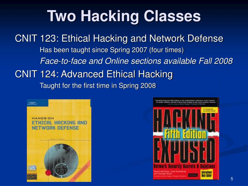 Two Hacking Classes