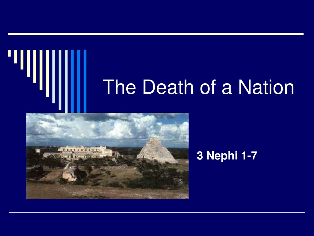 the death of a nation l.