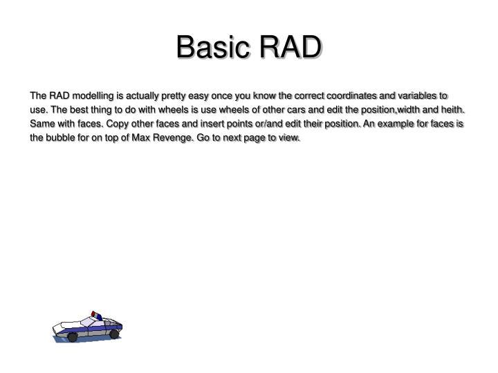Basic RAD
