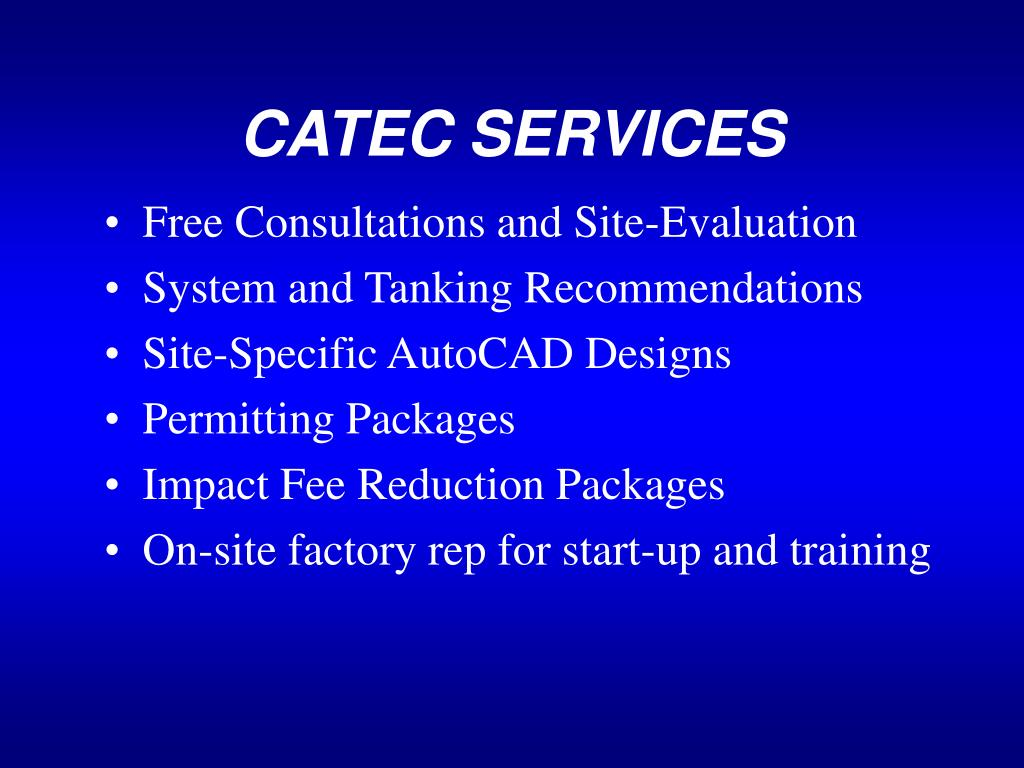 CATEC SERVICES