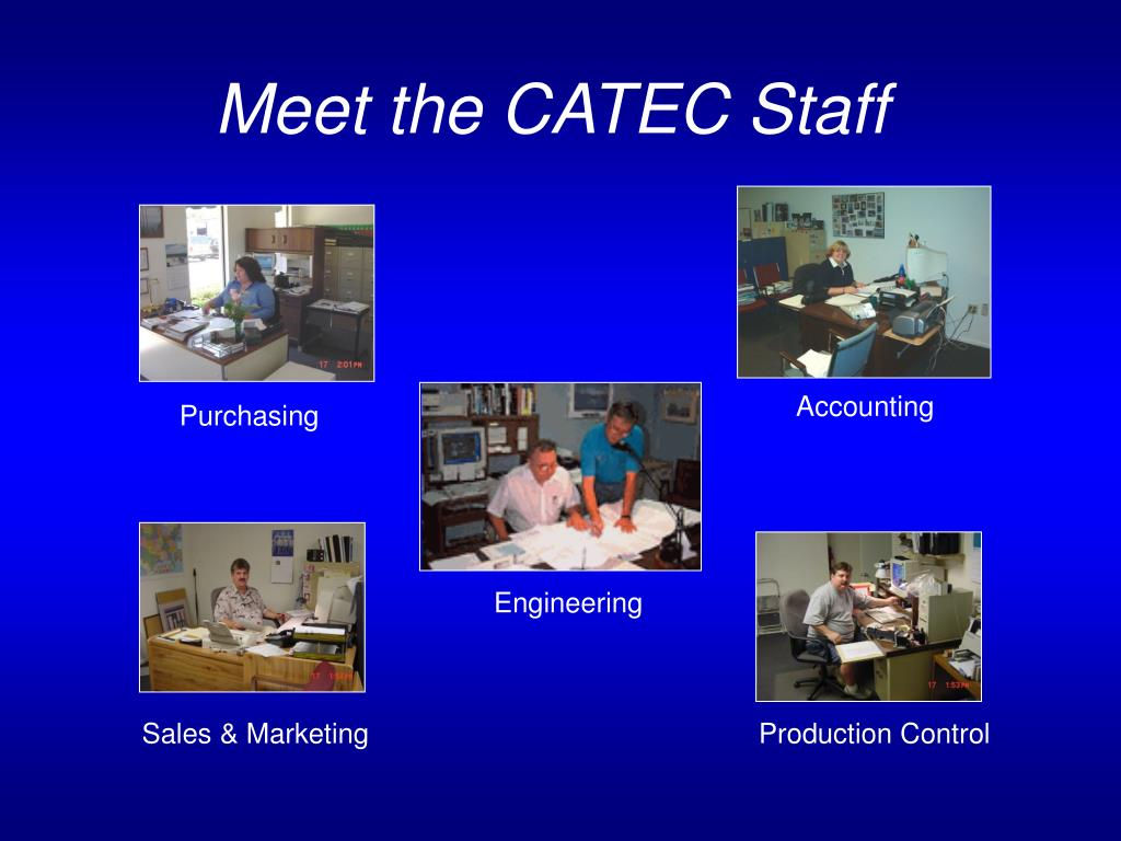 Meet the CATEC Staff