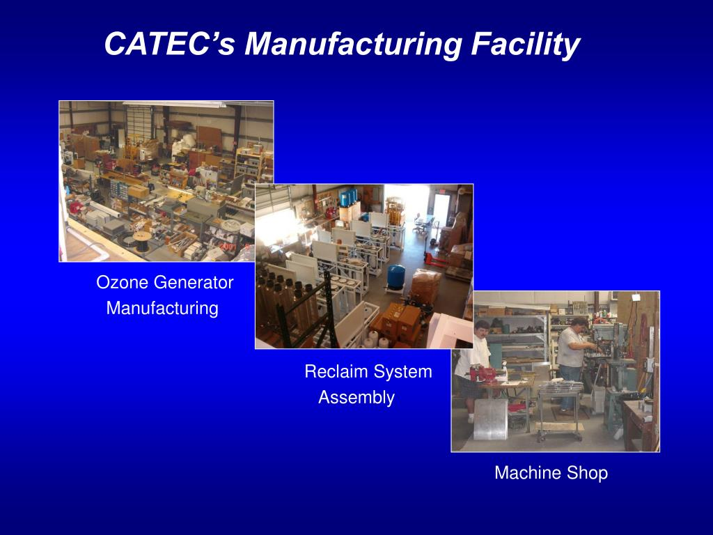 CATEC's Manufacturing Facility