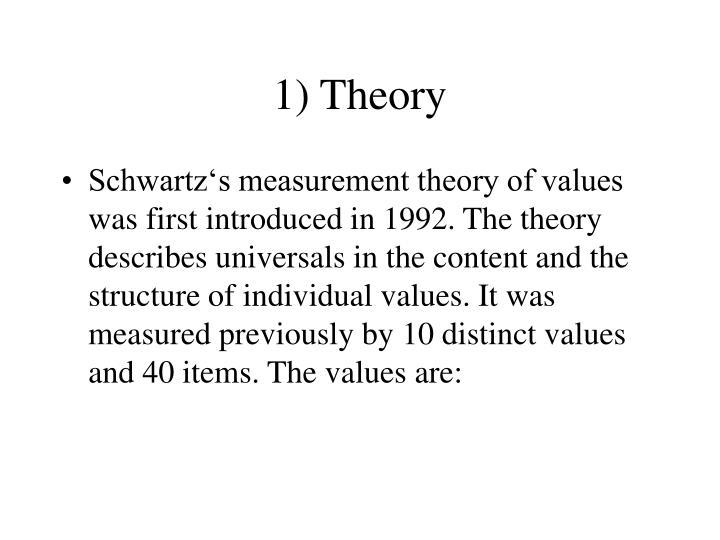 1) Theory