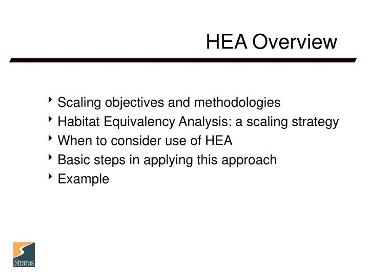 Hea overview