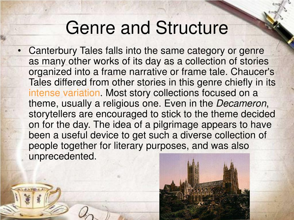 Genre and Structure
