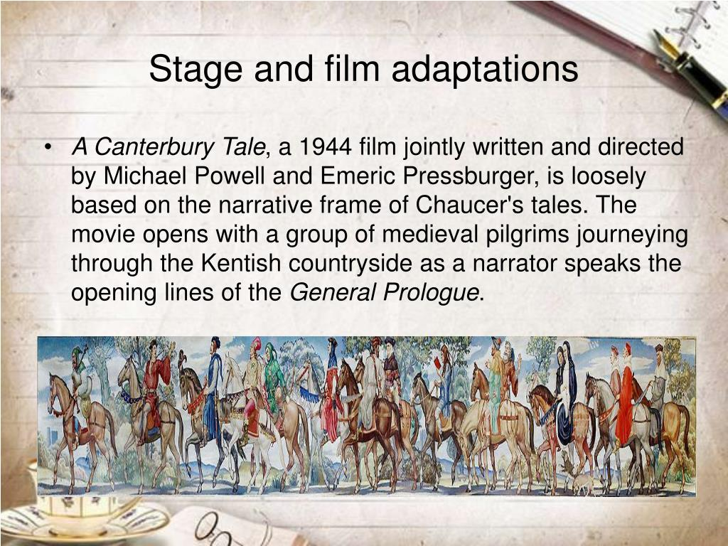 Stage and film adaptations
