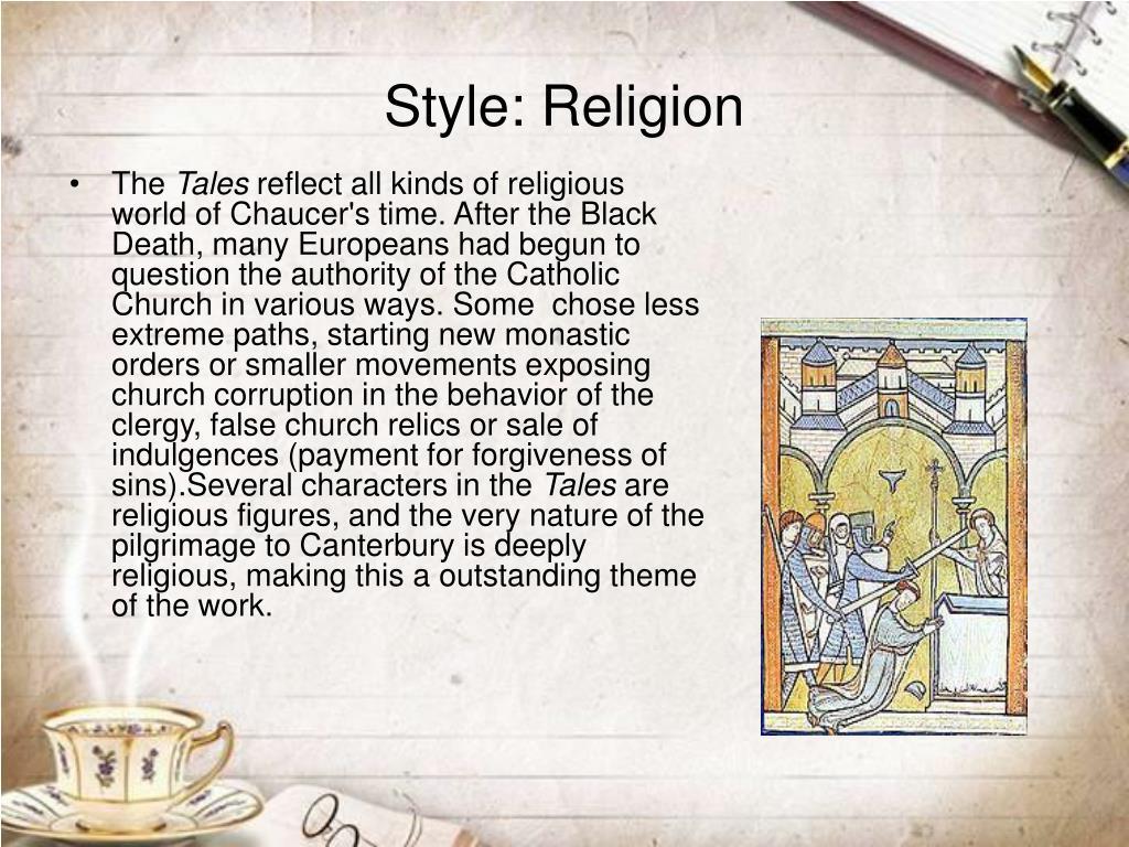 Style: Religion