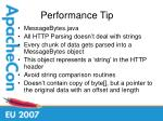 performance tip23