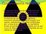 contaminaci n radiactiva