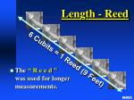 length reed
