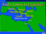 paul s letters to churches
