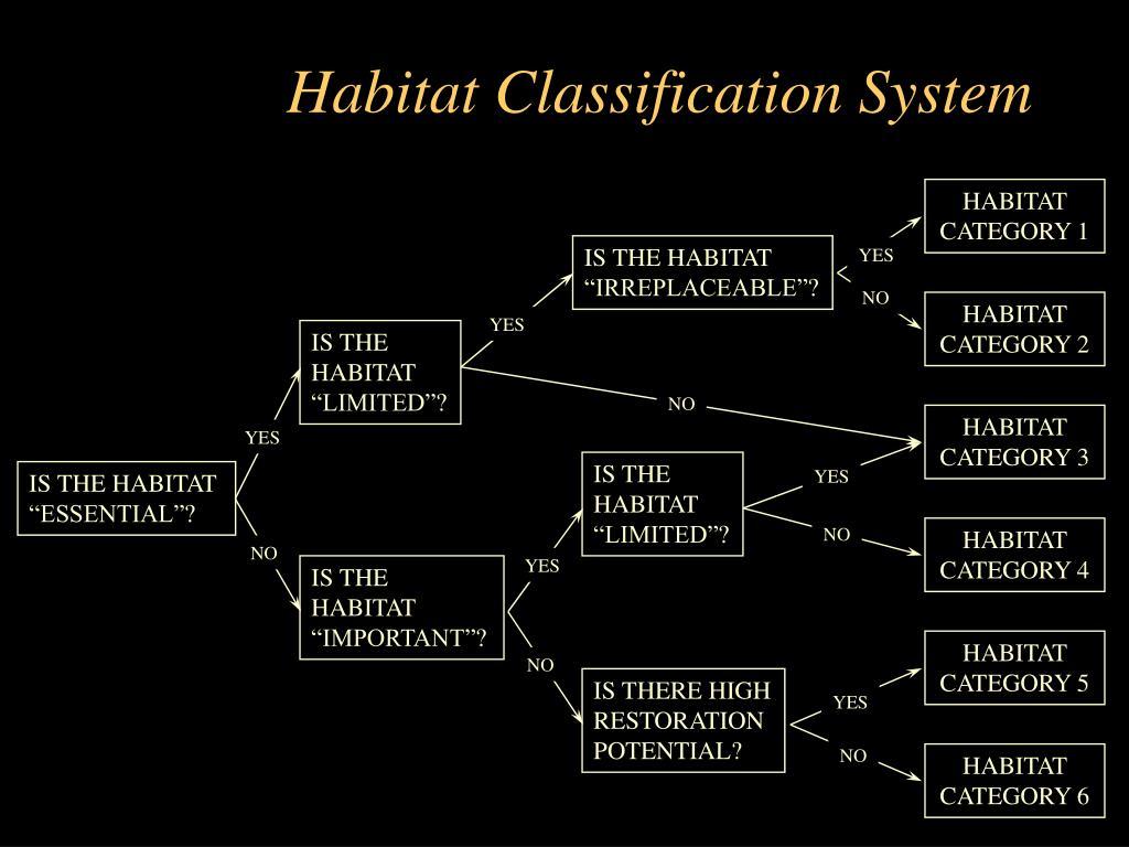 Habitat Classification System