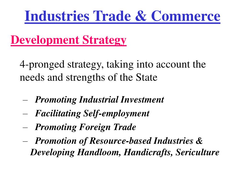Industries Trade & Commerce