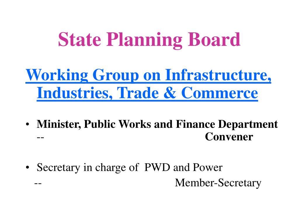 State Planning Board