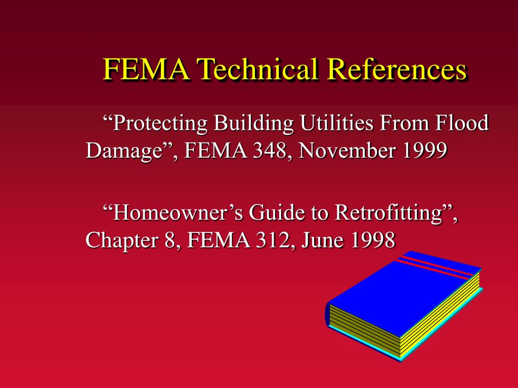 FEMA Technical References