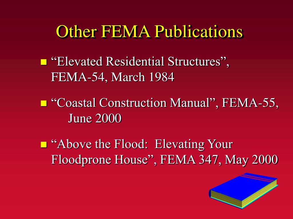 Other FEMA Publications