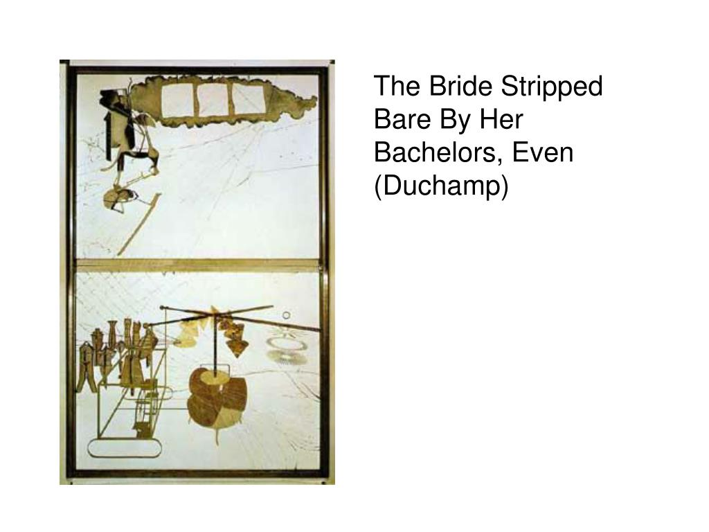 The Bride Stripped Bare By Her Bachelors, Even (Duchamp)