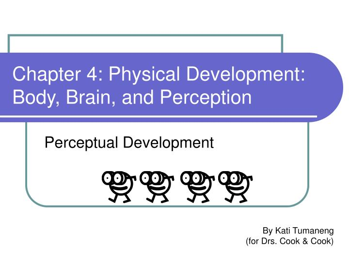 Chapter 4 physical development body brain and perception