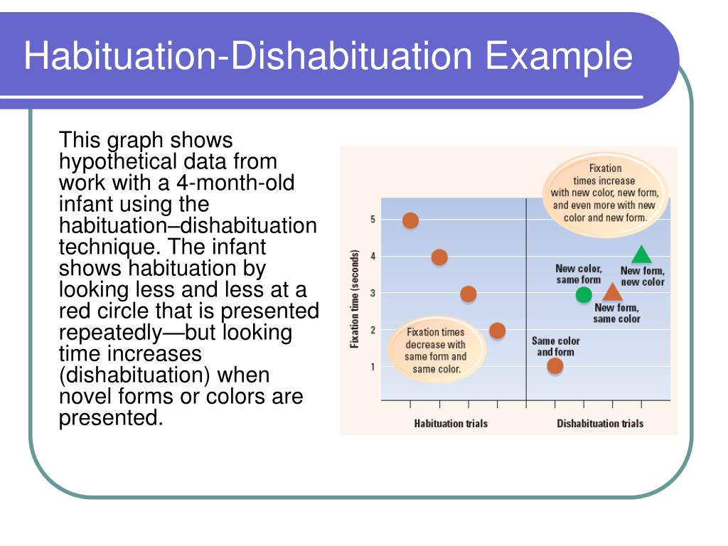 Habituation-Dishabituation Example