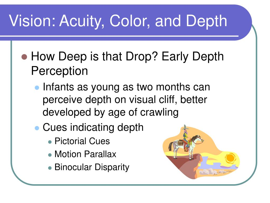 Vision: Acuity, Color, and Depth