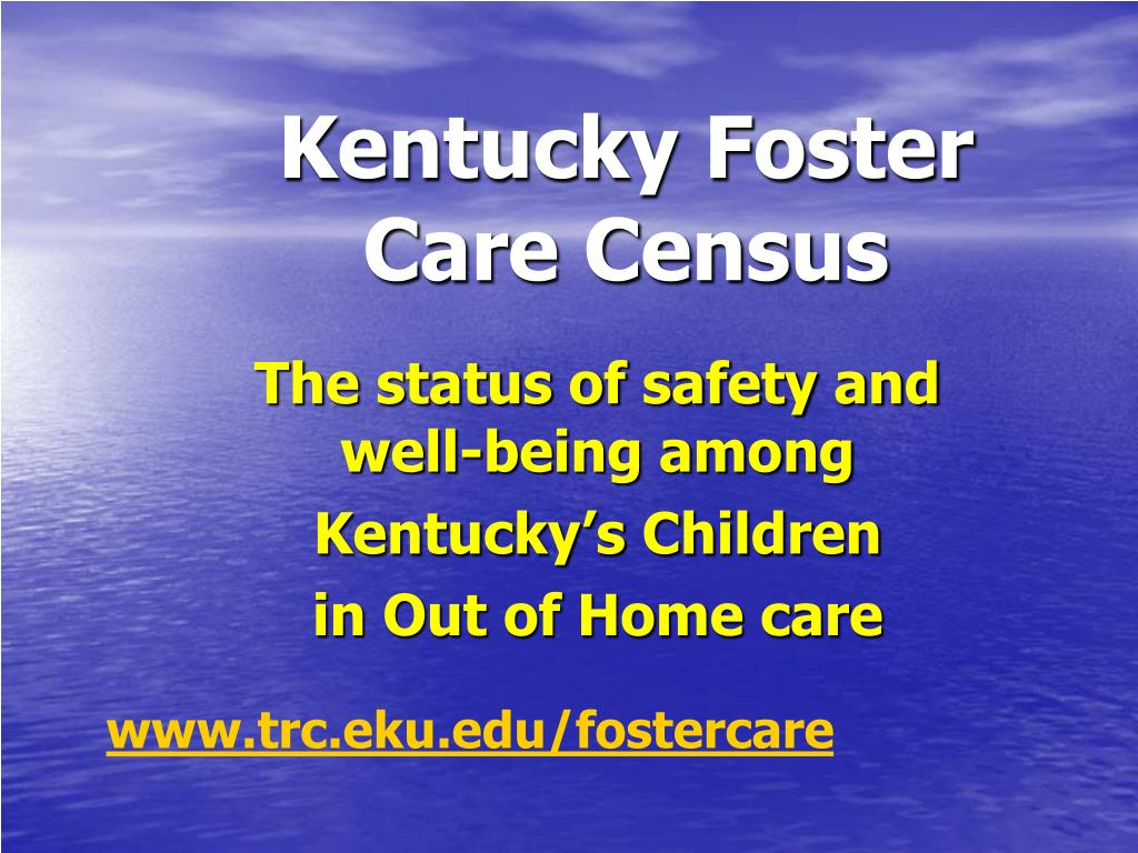 kentucky foster care census l.