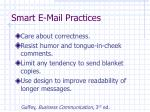 smart e mail practices13