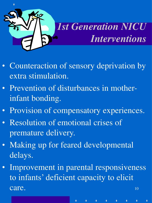 1st Generation NICU Interventions