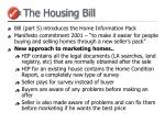 the housing bill