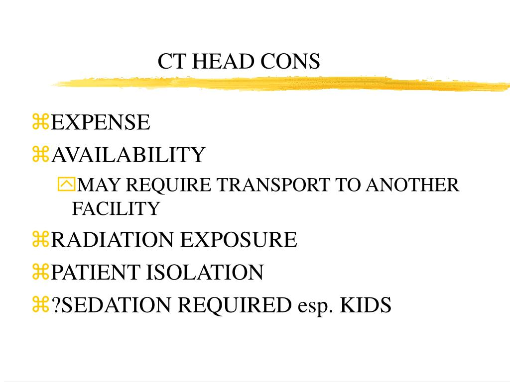 CT HEAD CONS