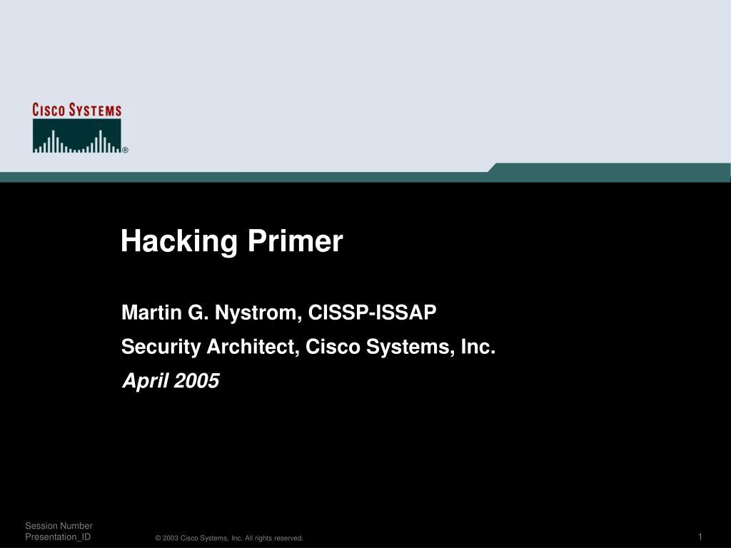 Hacking Primer
