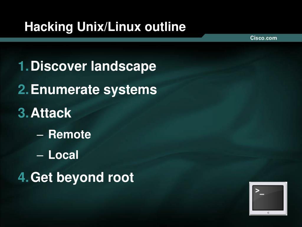 Hacking Unix/Linux outline