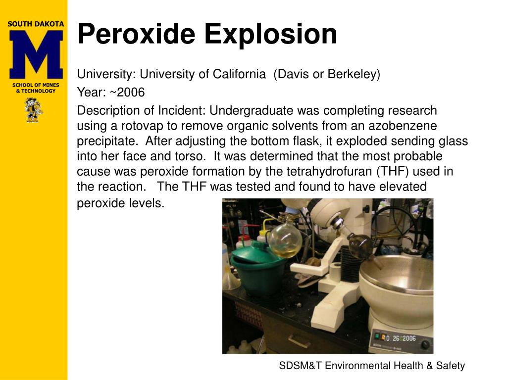 Peroxide Explosion