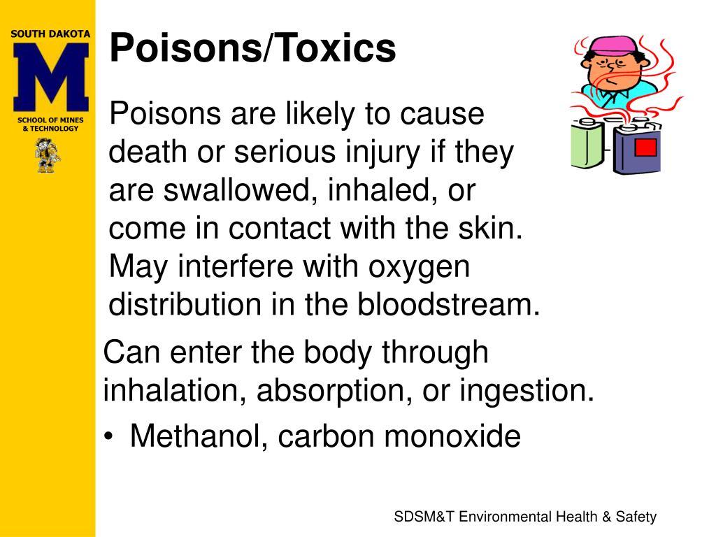 Poisons/Toxics