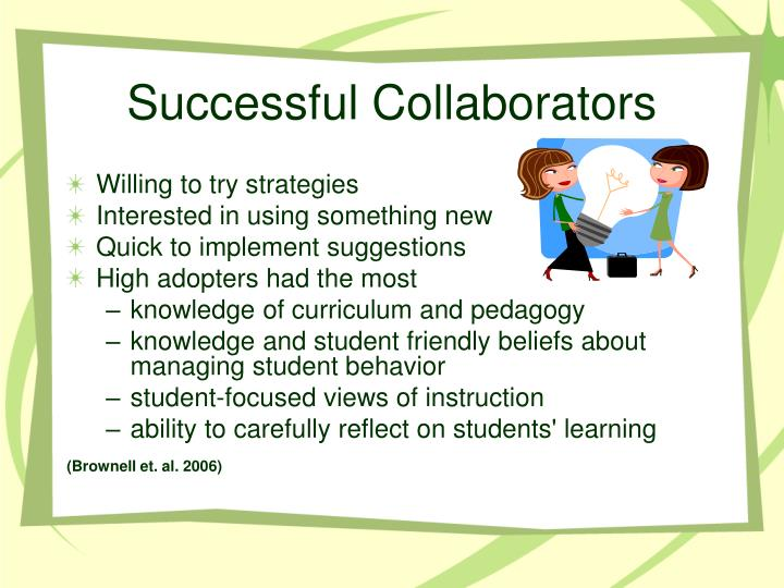 Successful Collaborators