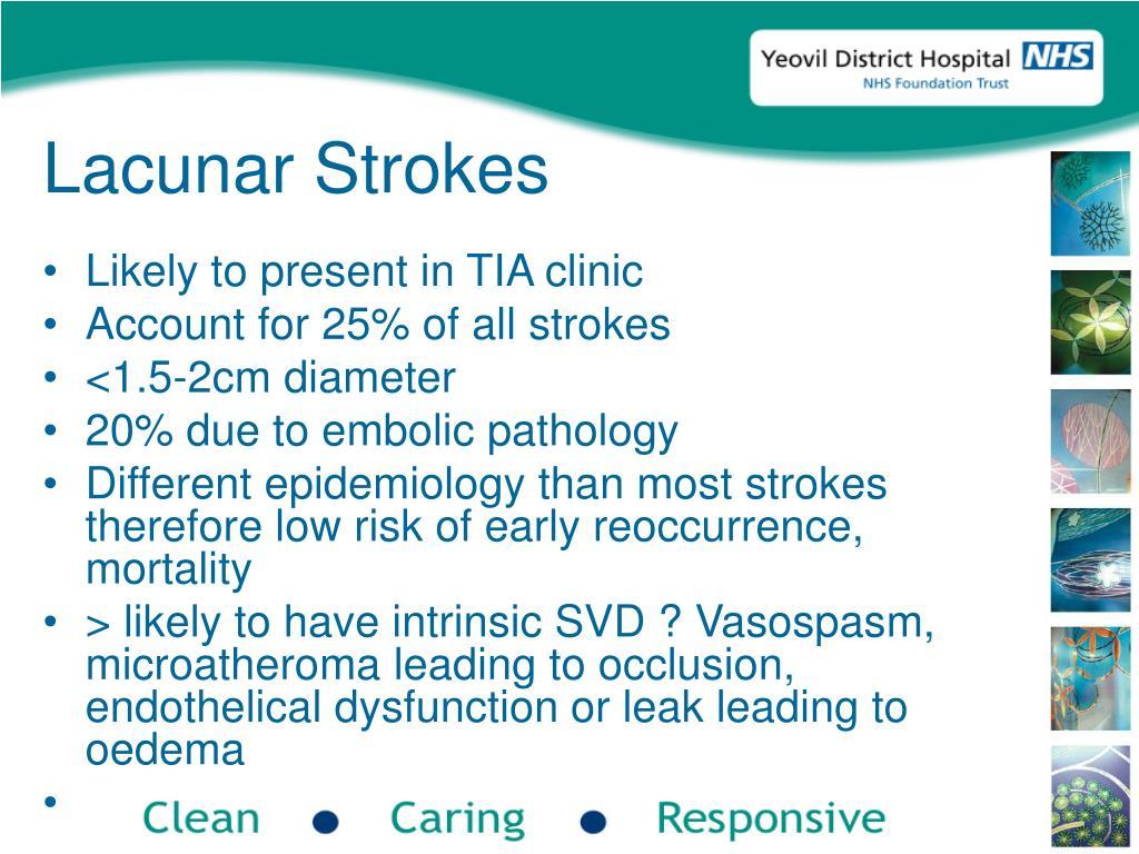 Lacunar Strokes