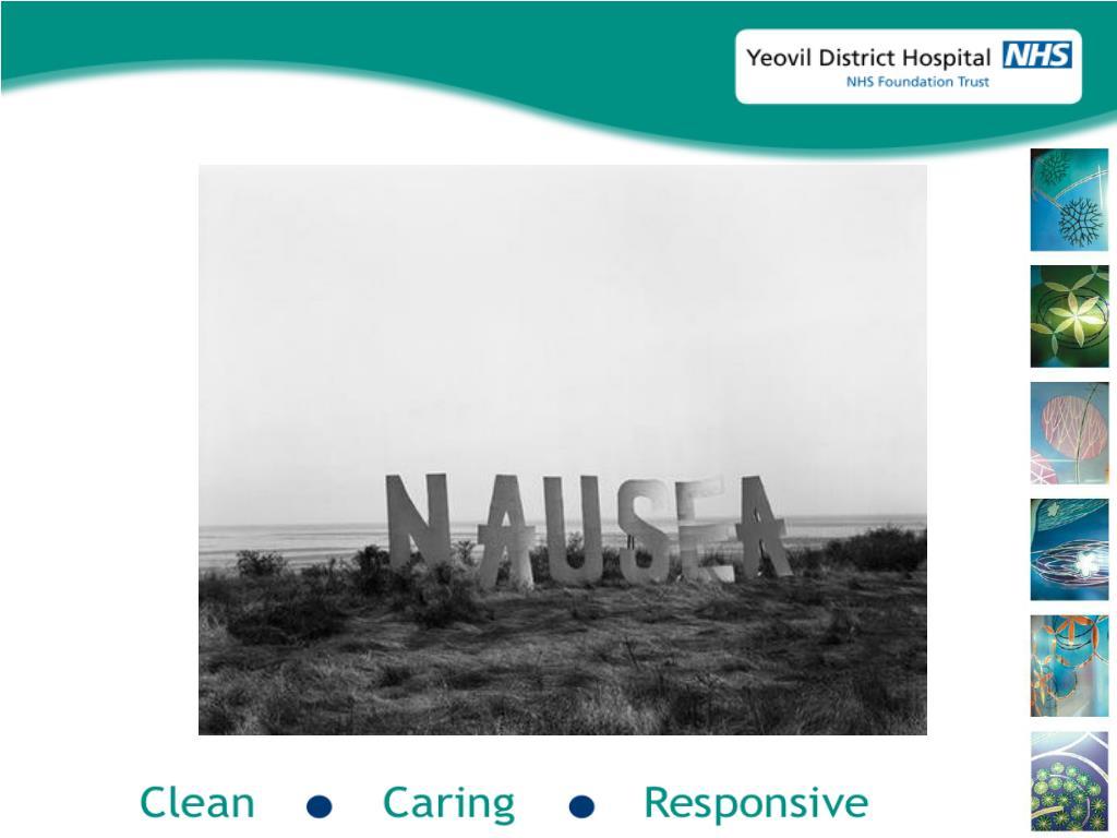 Nausea and vomiting…