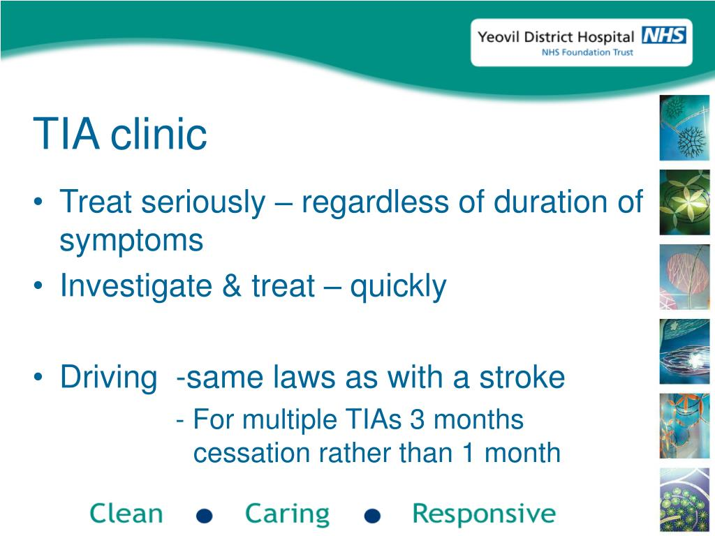 TIA clinic