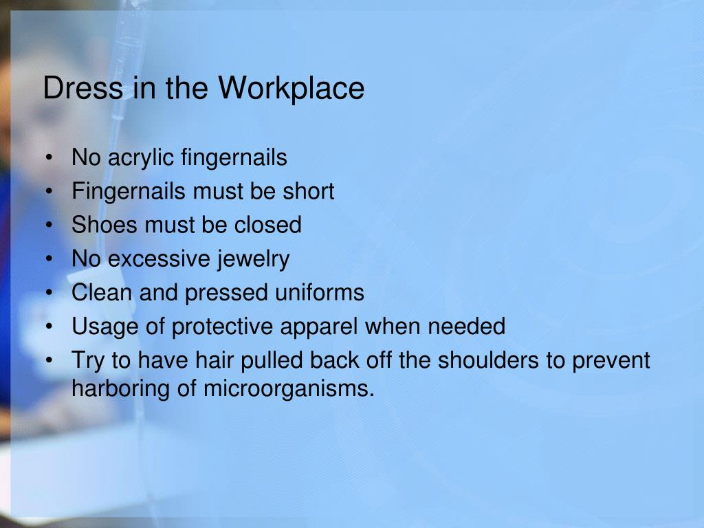 Dress in the Workplace