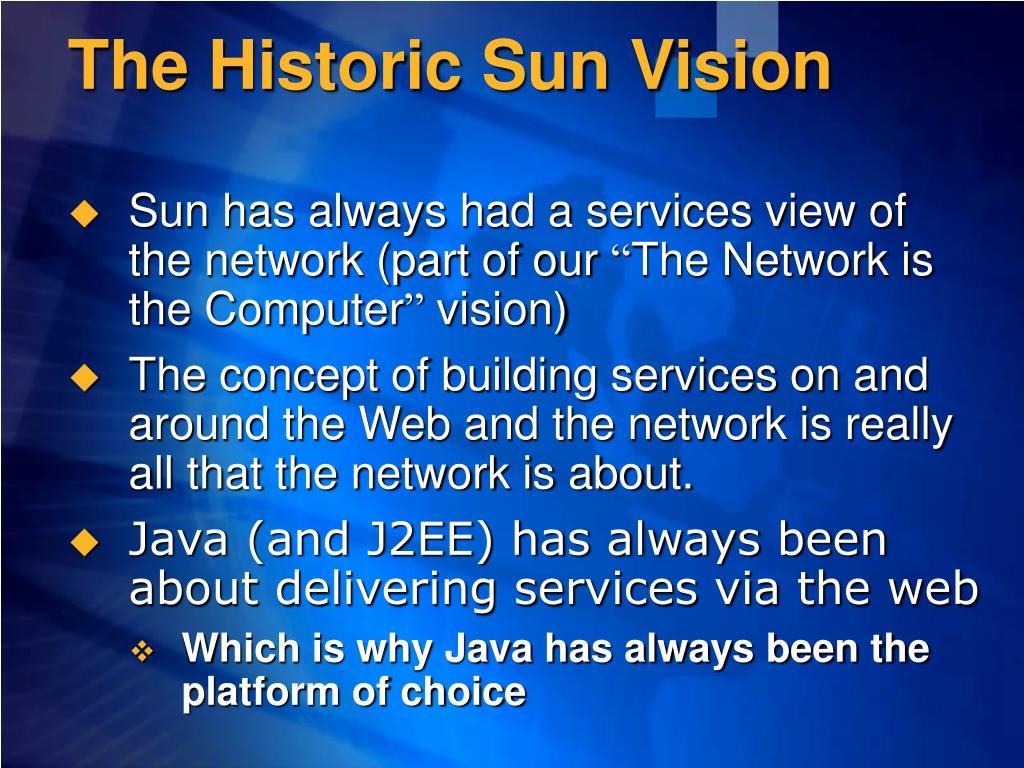 The Historic Sun Vision