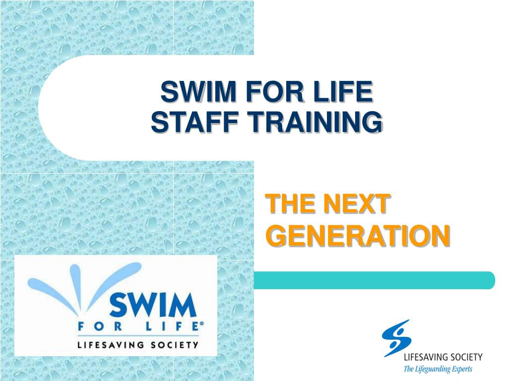 swim for life staff training l.