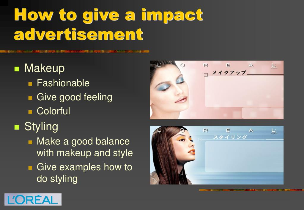 How to give a impact advertisement
