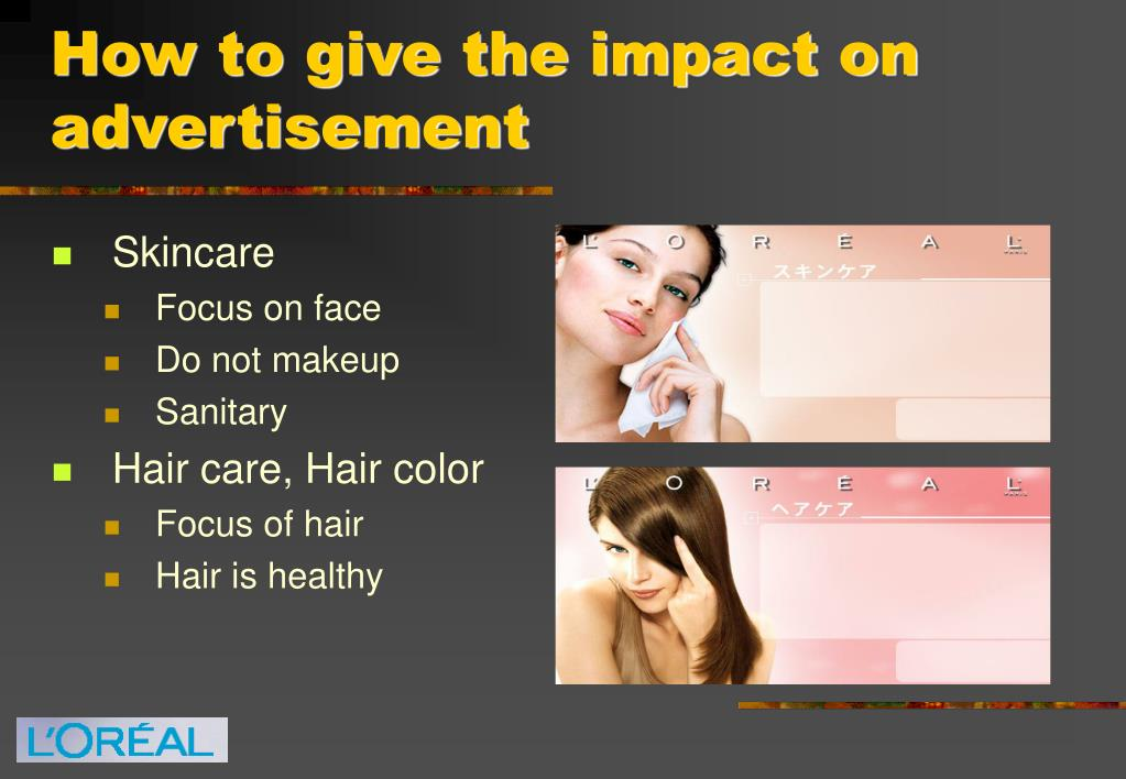 How to give the impact on advertisement