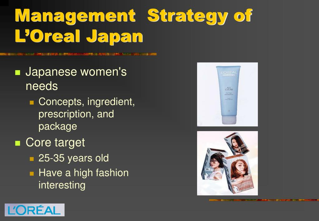 Management  Strategy of L'Oreal Japan