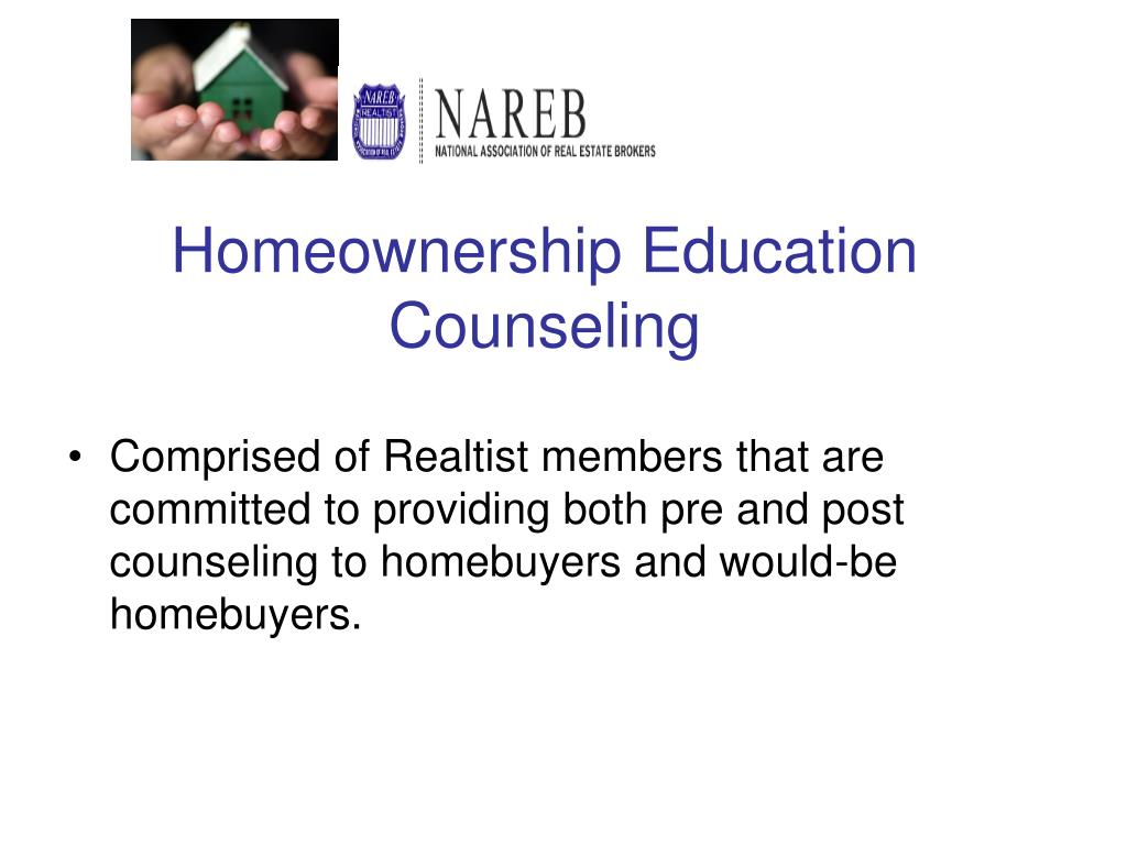 Homeownership Education Counseling