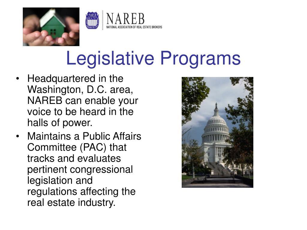 Legislative Programs