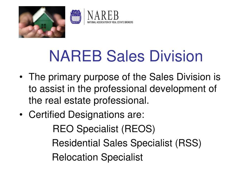 NAREB Sales Division