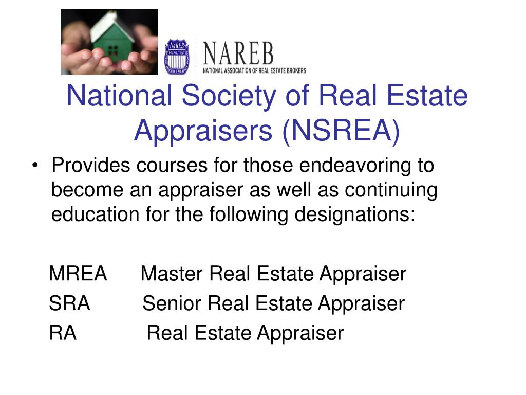 National Society of Real Estate Appraisers (NSREA)
