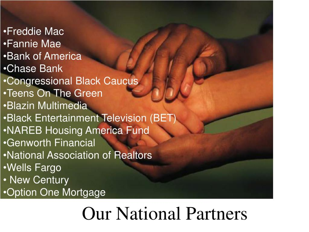 Our National Partners